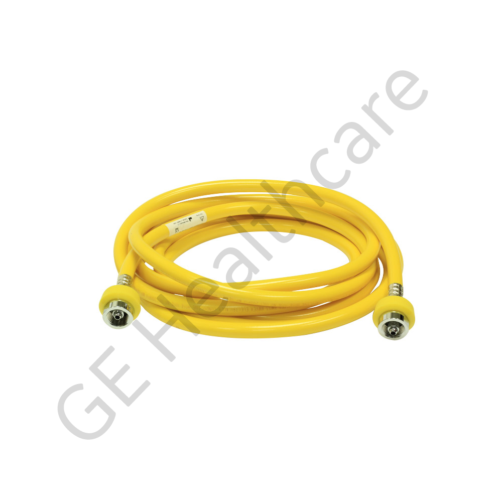 Hose Assembly Air Yellow 15ft DISS Hit N-G/DISS BCG