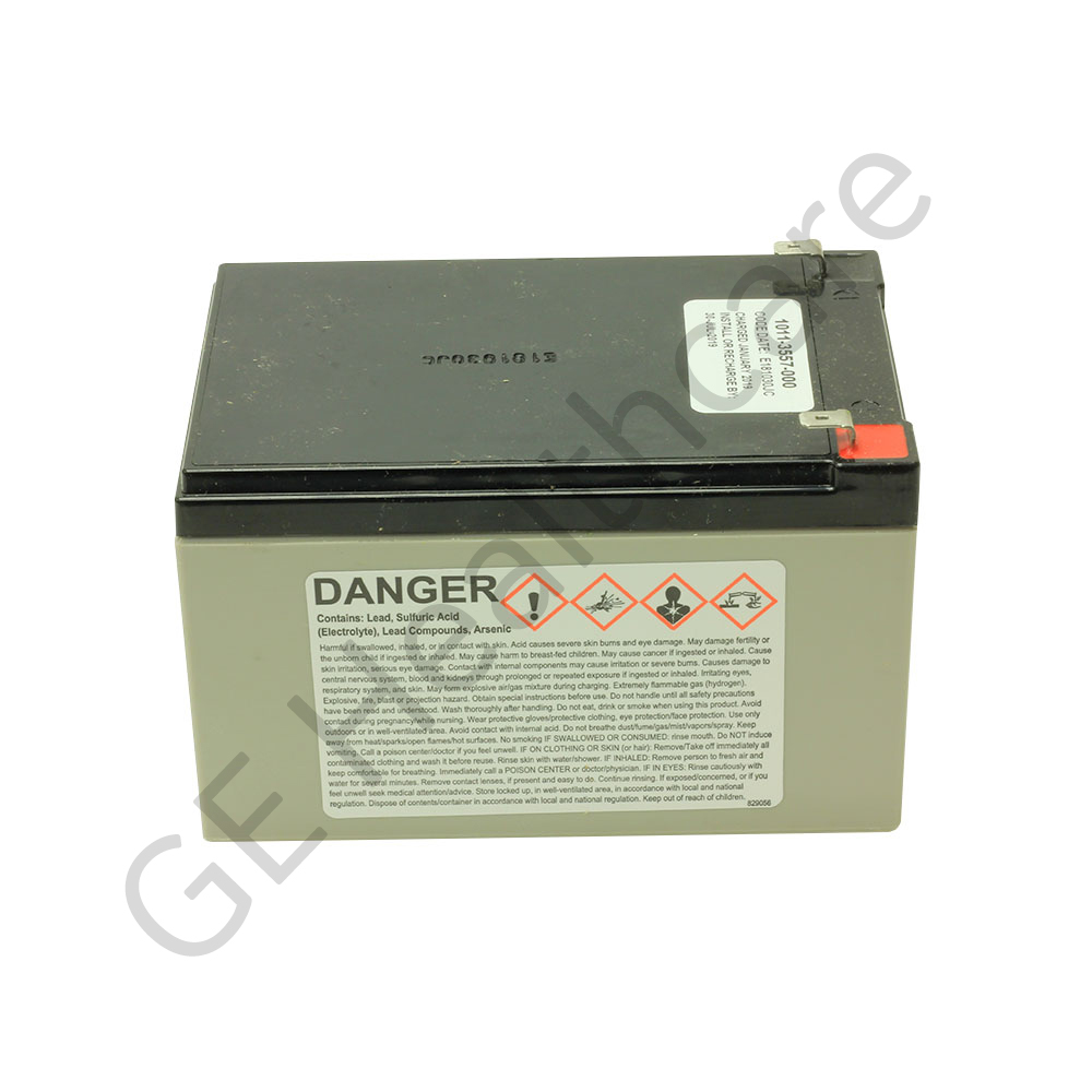 Battery Sealed Lead Acid 12 Volt (12V) 12 Amp-hour (12Ah)