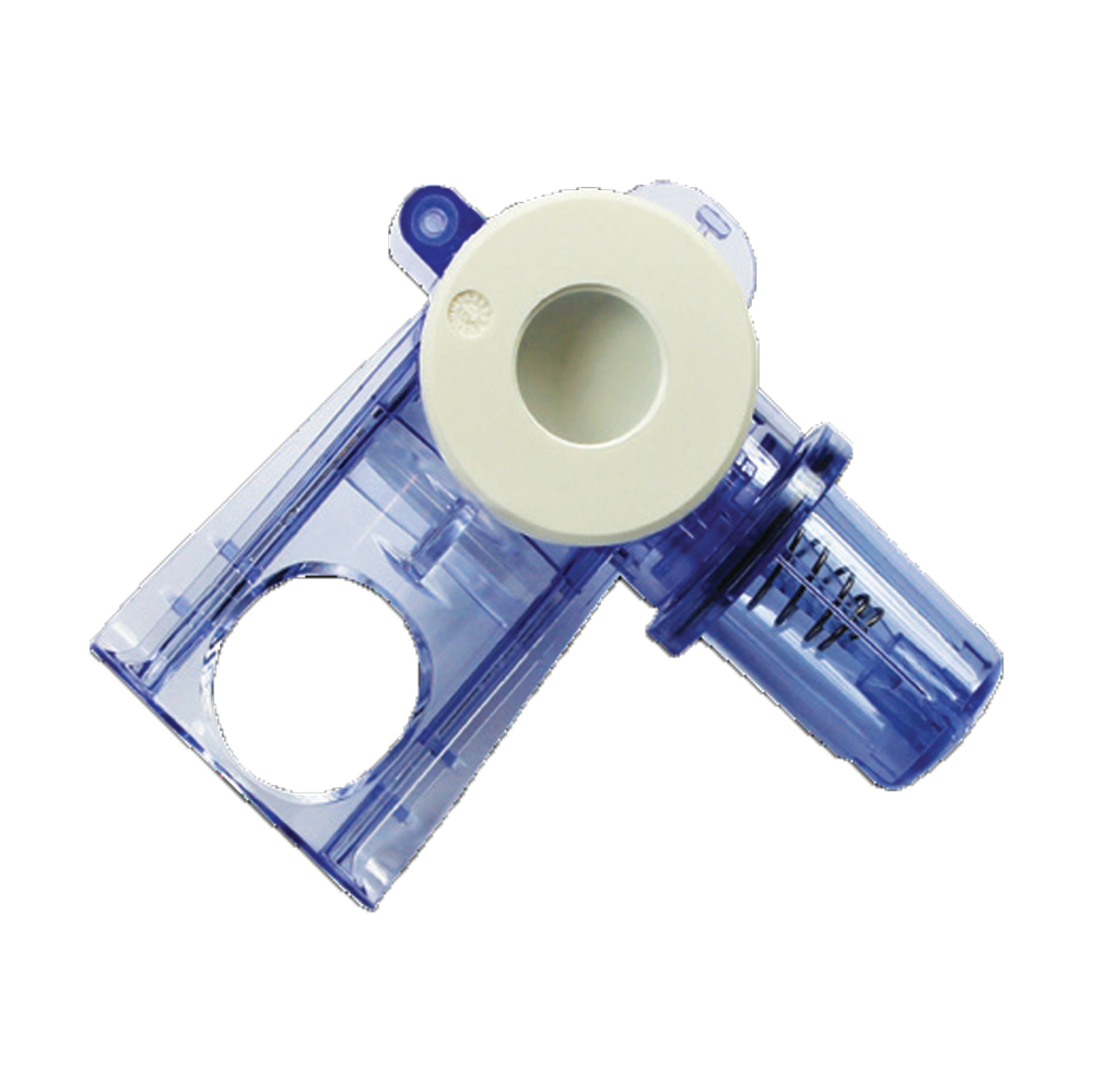 Single-Patient-Use Partial Exhalation Valve Assembly With Housing, Diaphragm, Water Trap - no flow sensor