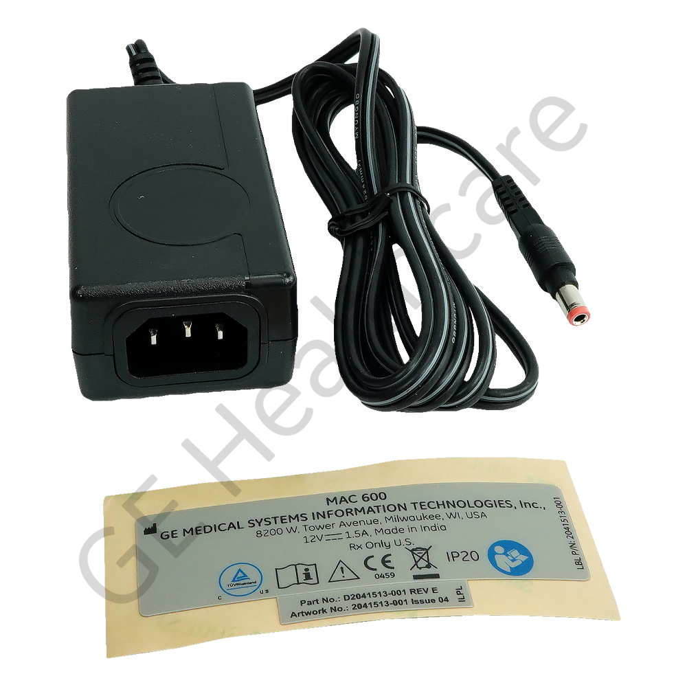 12VDC External Power Supply