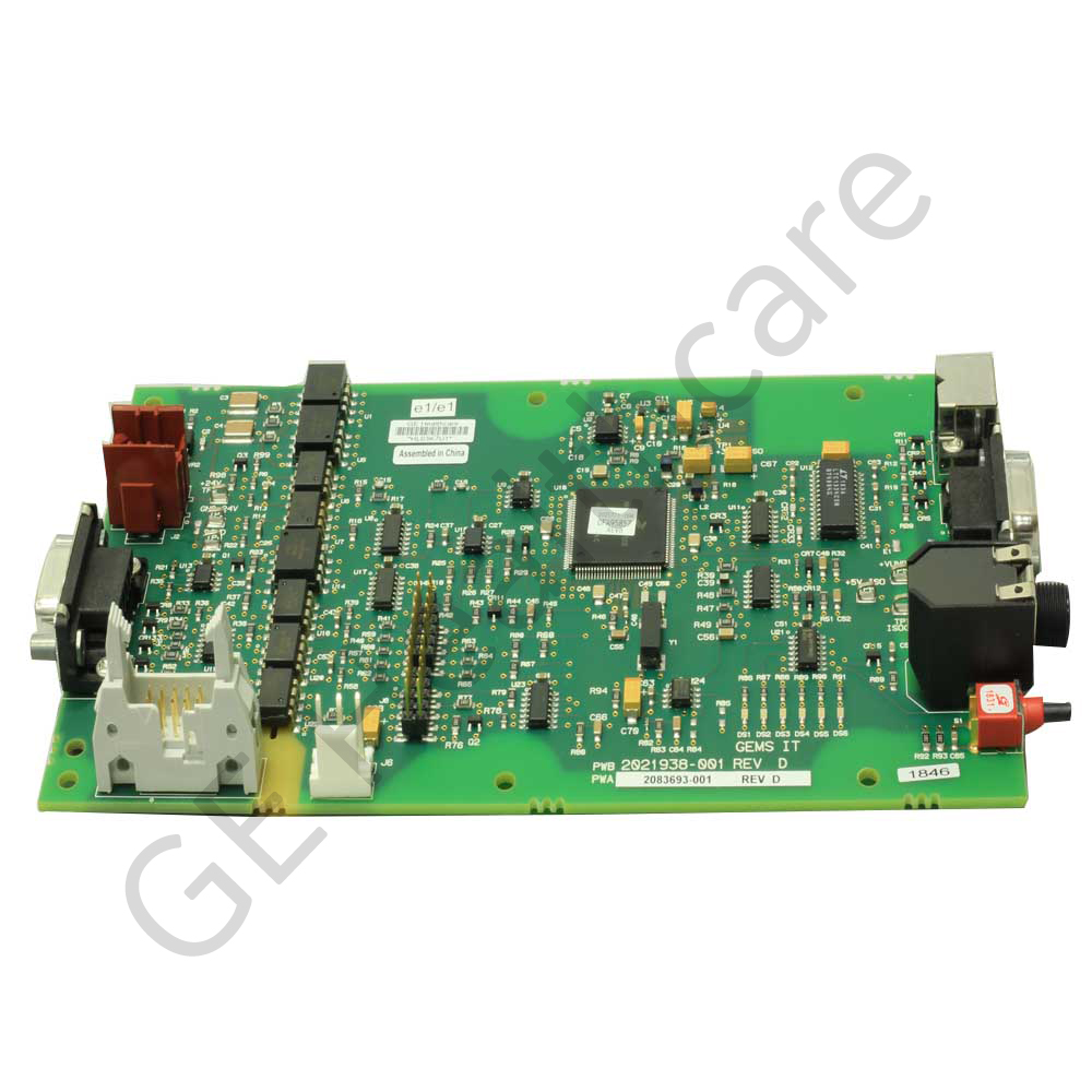 Printed Circuit Board T 2100 Treadmill Processor - RoHS