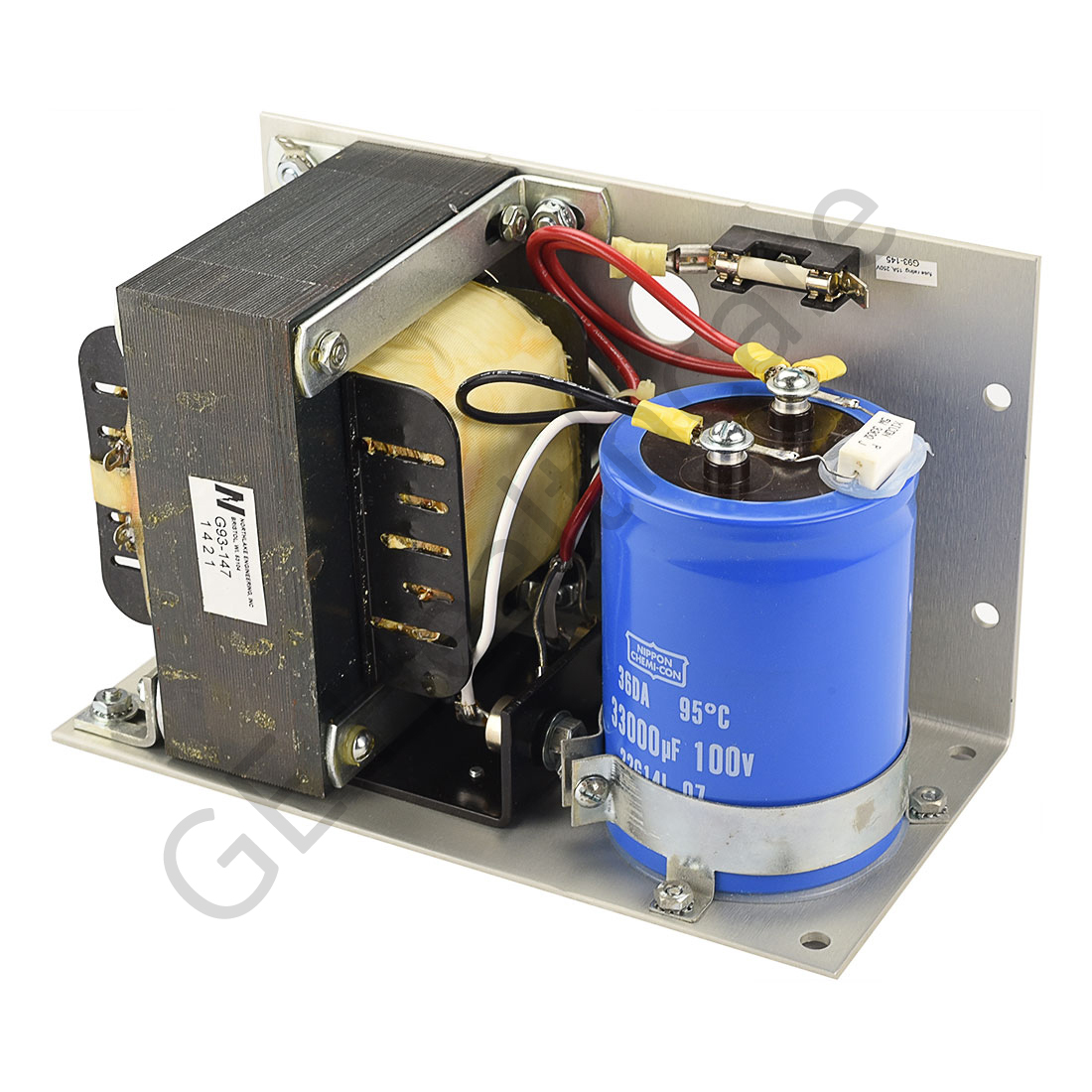 Unregulated Filament Power Supply 120VAC Input 38V 15A Output