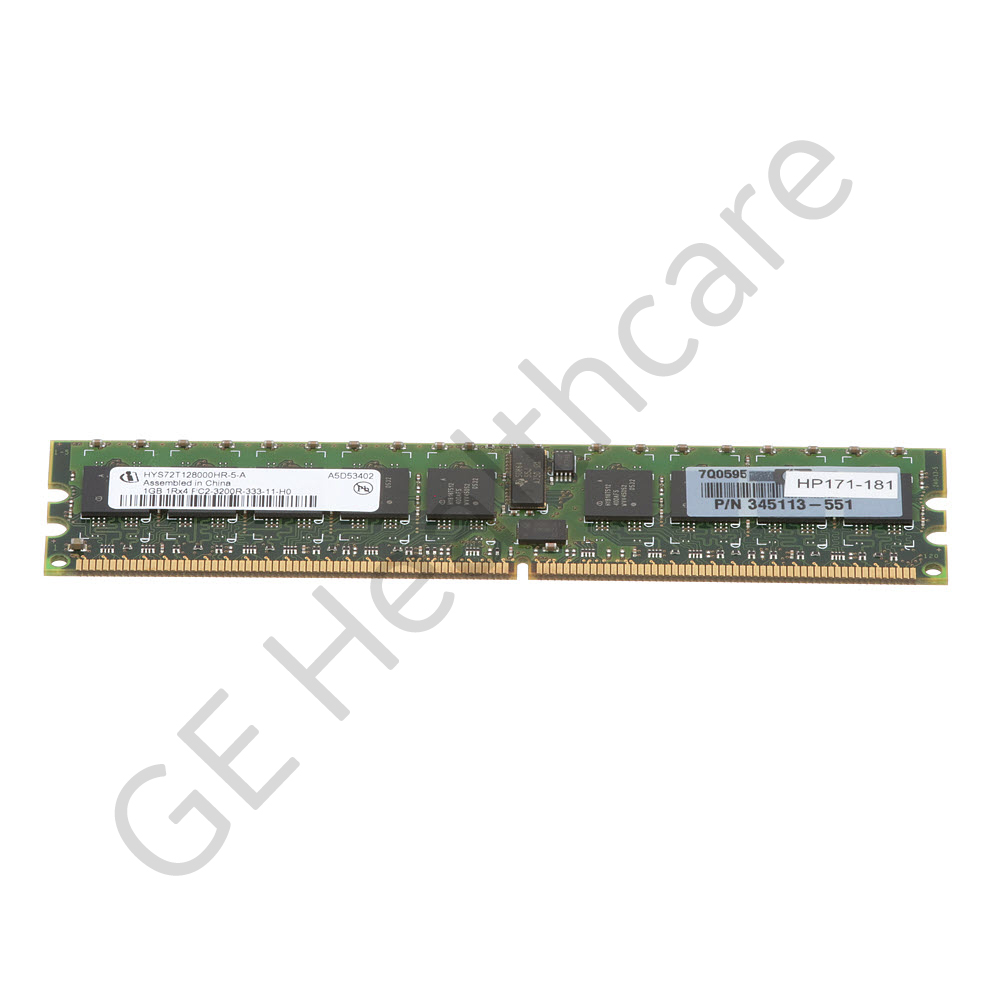 AW HP XW8200 1GB DDR2-400 Registered ECC DIMM
