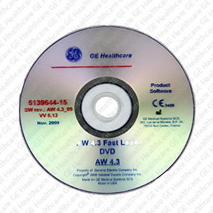 Advantage Workstation (AW) 4.3 Fast Load DVD