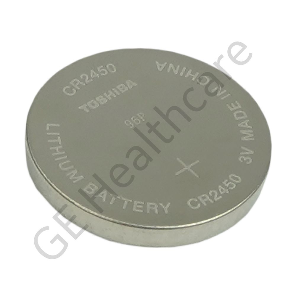 Lithium Ion Coin Cell Battery CR2450 610mA - RoHS Compliance