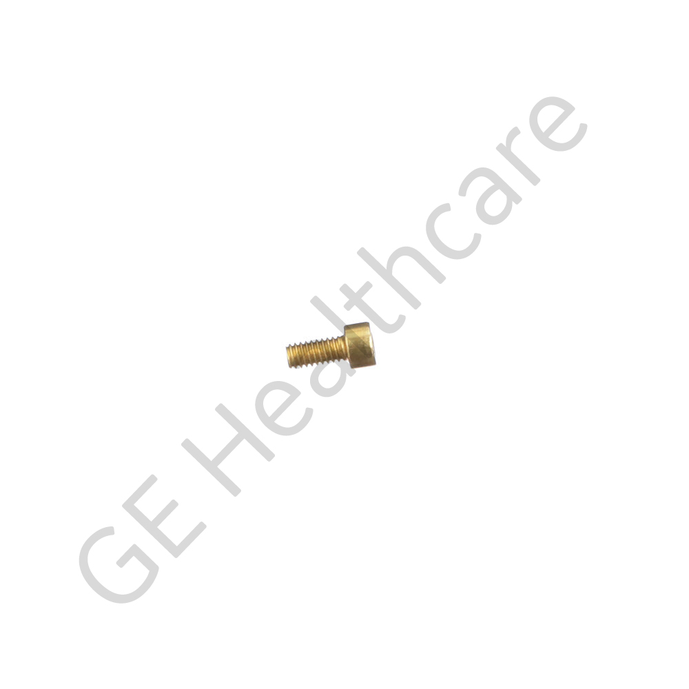Hexagonal Socket Head Screw in 8-32 x 3 By 8 Brass