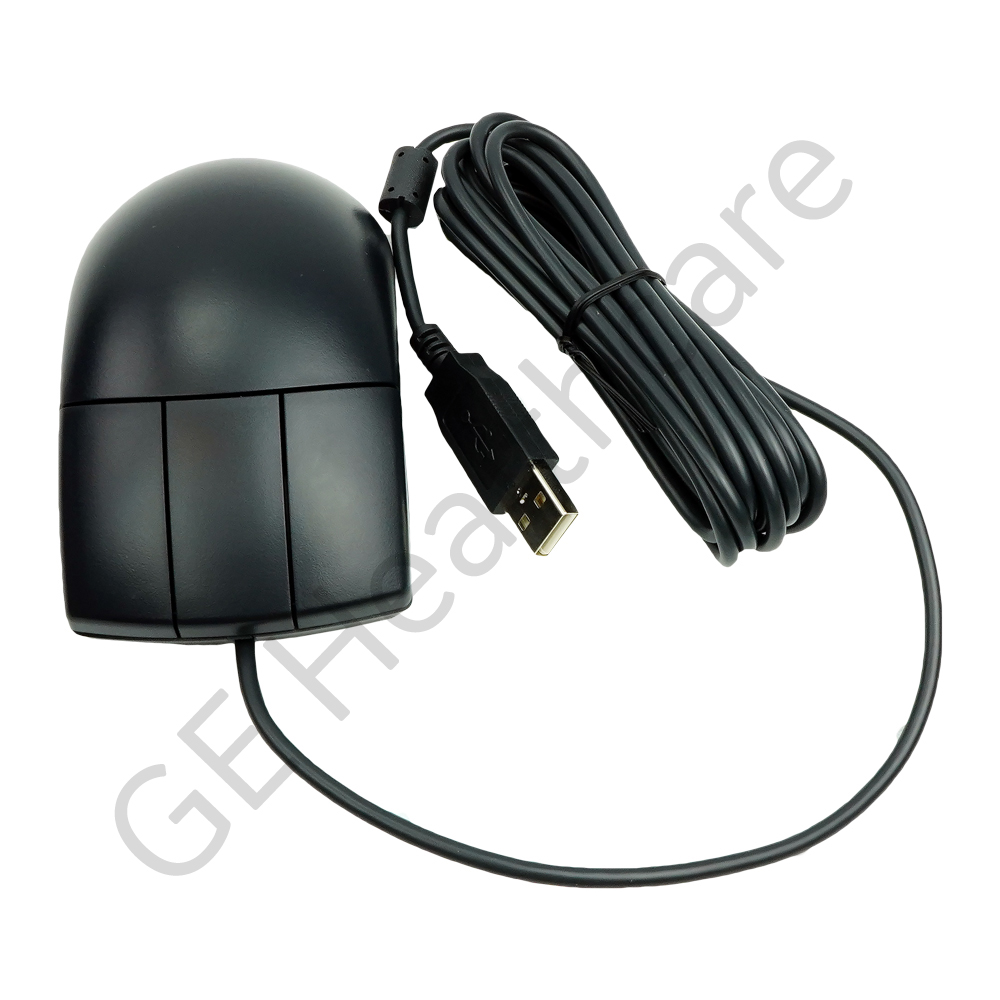 Black 3 Button EMC Enhanced USB Optical Mouse