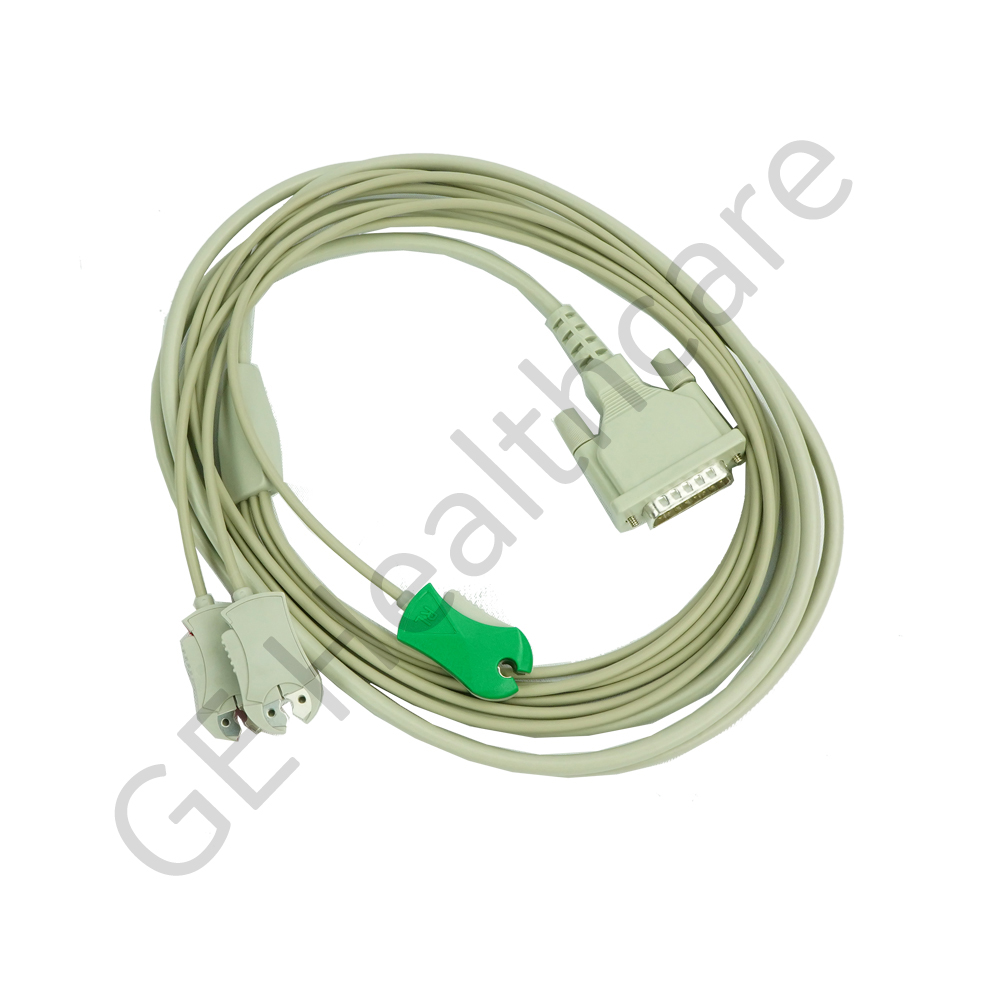 NORAV R-Wave Patient Cable with Clip Ends