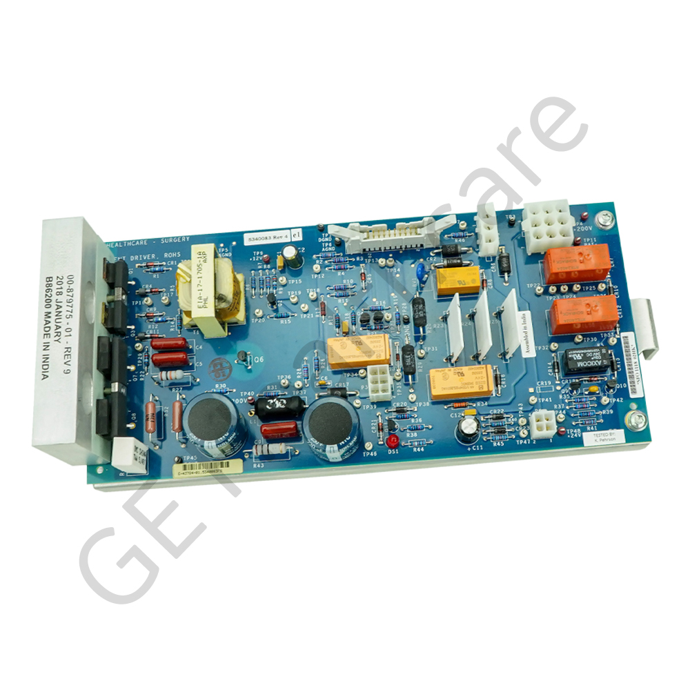 SERVICE PART, PC BOARD ASM, FILAMENT DRIVER, RoHS