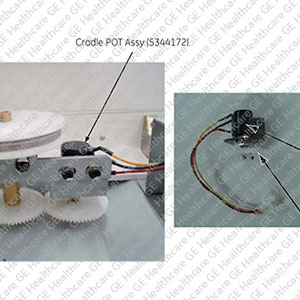 Cradle Potentiometer Assembly