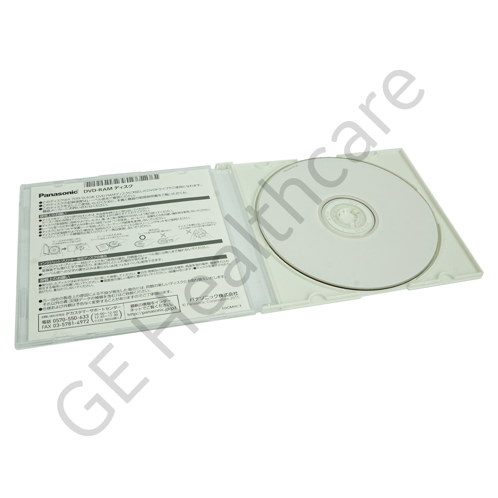 DVD RAM Bare Media