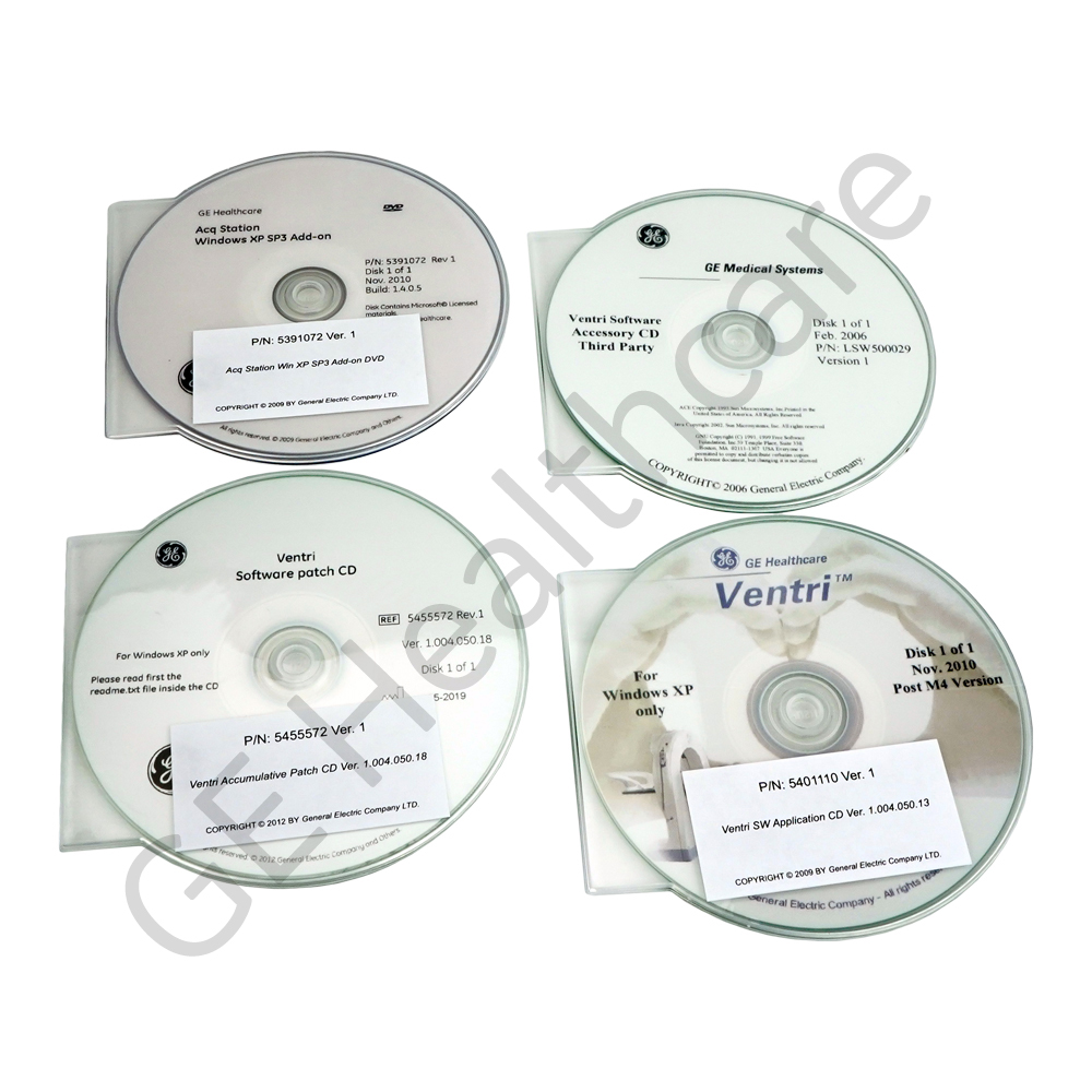 Ventri Software and E-Manual Package for Part
