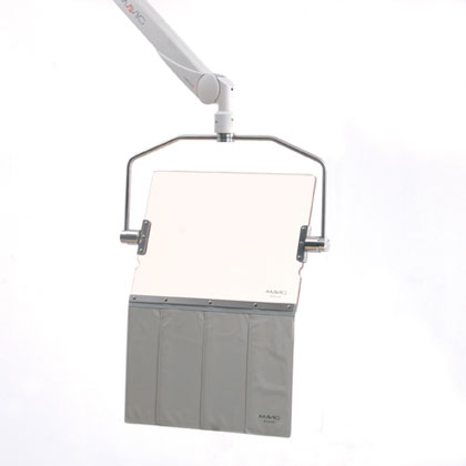 Rectangle Shield 40 x 50 cm w/ yoke & aprons