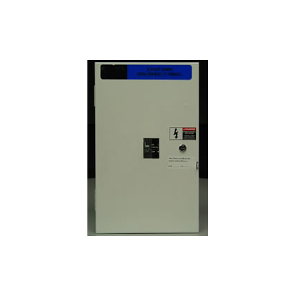 25 KAIC X-Ray Main Disconnect Panel 110 Amp, 480 V/208 V