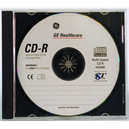 650MB CD-R Medical Grade Media 10/Pack Jewel Case
