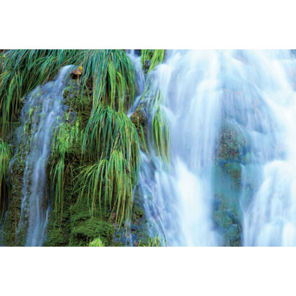 One Decorative Blade - Waterfall - Large size 107x 50 cm