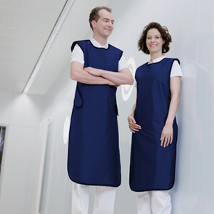 Ergonomic apron - Model 650 - S/M/L/XL, Length = 100cm, Navy (Ocean), 0.50mm Pb Equivalent
