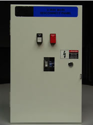 25 KAIC X-Ray Main Disconnect Panel 90 Amp, Auto-Restart