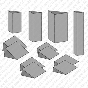 Kit of 12 Wedges Positioning Pads