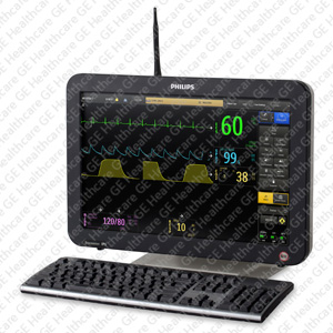 Wireless IP5 control room display with flex antenna for Expression MR400/200 Patient Monitors
