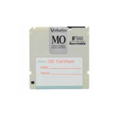 Cartridge MO. Formatted