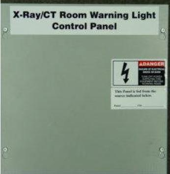 Infinia X-Ray Warning Light Control Panel