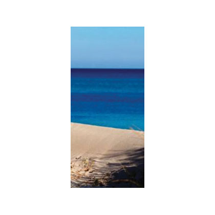 One Decorative Blade - Seaside - Large size 107 x 50 cm