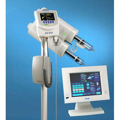 ACIST EmpowerCTA Dual Head CT Injector with EDA - Pedestal Mount