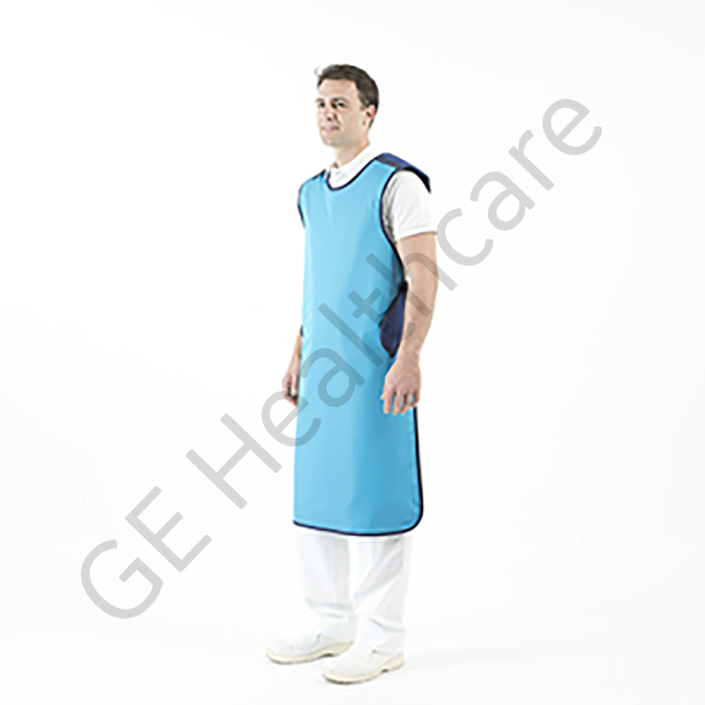 MAVIG Front Apron, model RA650 Ergonomic, lead eq 0.5-0.25 mm, size small, color Ocean