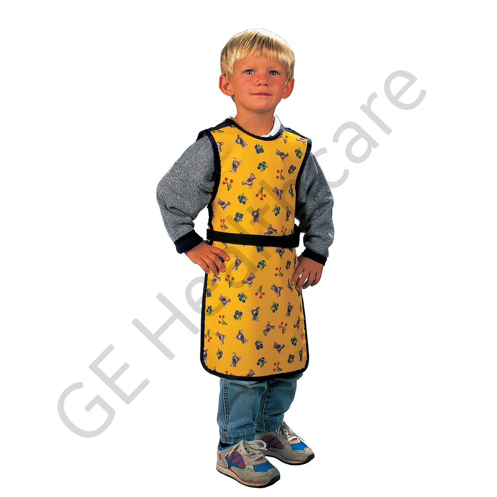 MAVIG children's apron, model RP664, lead eq 0.5-0.25 mm, size medium, Teddy design