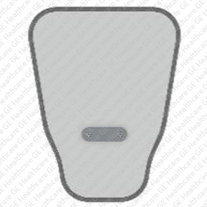 Kenex optional lift-off top shield, 27 cm wide