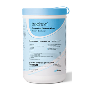 trophon Cleaning and LLD Wipes (100 wipes/can, 6 cans/box)