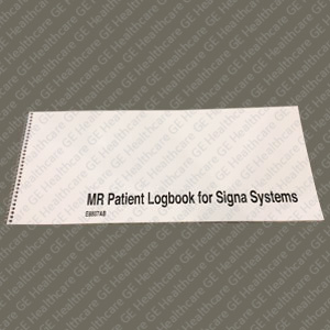 GE MR Patient Logbooks for Signa Systems