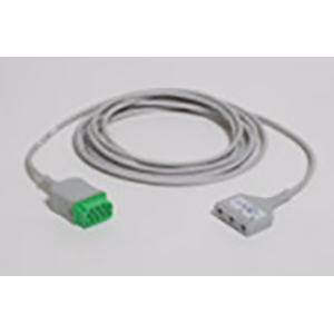 ECG Trunk Cable, Neonatal, DIN 3-Lead - AHA - 3.6 m/12 ft.