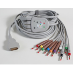 ECG Value Cable 10-Lead Cable / LDWR AHA