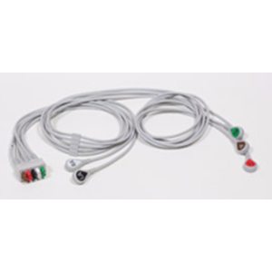 ECG Leadwire Set, 5-Lead AHA 74 cm (29 in), 130 cm (51 in)