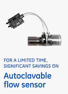 Autoclavable flow sensor savings